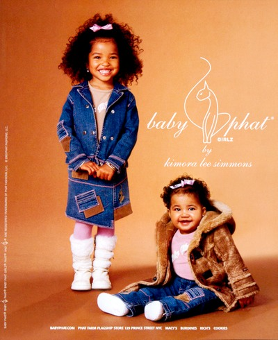 Babyphat ad 2 girls photo by Julie Gang
